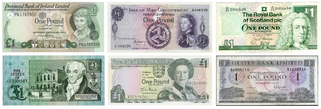 Irish Currencies From A Coin Collecting And Banknote