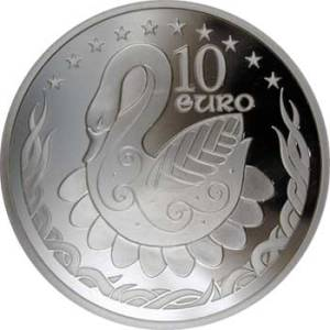 2004 - €10 silver proof - EU Expansion Obverse