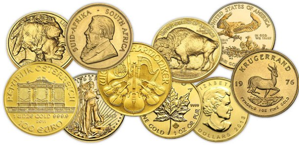 Among the types of bullion (cast, minted, extruded), bullion coins are the most common and are generally more expensive. A bullion coin can be made from gold, silver, platinum, or palladium and its value depends on its troy weight and prices in of precious metals. A bullion coin may come in different shapes, sizes and weight: 1-ounce, ½-ounce, and grams for gold and silver bars