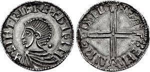 hiberno-norse, coin, dublin, ireland, hammered coinage, irish, sithric, clontarf