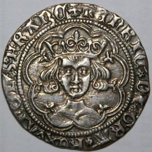 A good VF groat of Henry VI