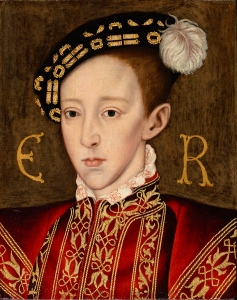 Edward VI, by William Scrots, c. 1550