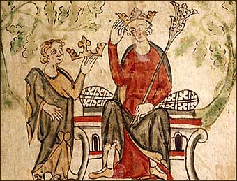 King Edward II of England was one of history's least loved monarchs. From the day he took up rule of his nation in 1307 he was controversial due to his strong attachment to a series of court favourites, believed by most to be his lovers. He was also unfortunate in the wars against Scotland, which his father Edward I, 'Longshanks' or 'The Hammer of the Scots', had started with great success. During his reign not only did the Scots reclaim most of their country from English rule, but a number of civil wars broke out when English Barons rebelled with the purpose of eliminating Edward's favourites.