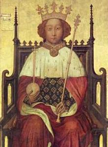 Richard II King of England - Coronation portrait