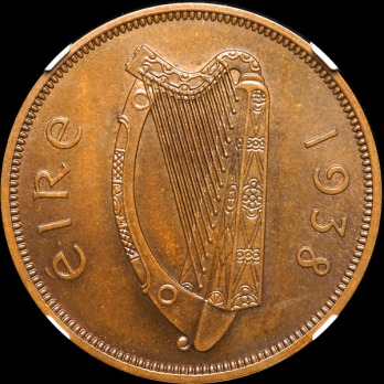 1938 Irish Penny (the only one in private hands)