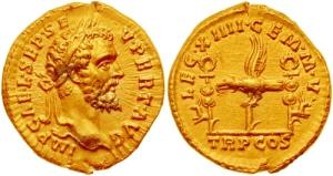 gold aureus septimius severus