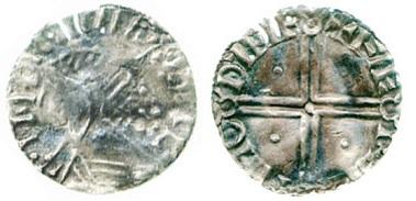Hiberno-Manx silver penny isle of man, Phase II imitation