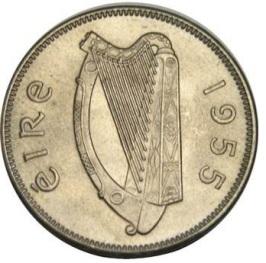 Ireland Irish sixpence coin obverse Eire