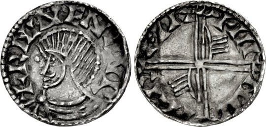 Hiberno-Norse silver penny dublin Phase III Echmarcach mac Ragnaill – Murchad mac Diarmata