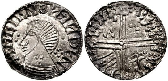 Hiberno-Norse silver penny Dublin Phase IV Murchad mac Diarmata