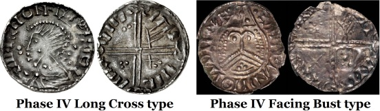 Hiberno-Norse, Phase IV Long Cross type and Phase IV Facing Bust type