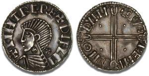 Hiberno-Norse, Sihtric III Anlafsson Penny, Dublin (Dyfli), Phase II coinage, c. 1018 - 1035, moneyer, Faeremin, nicely toned