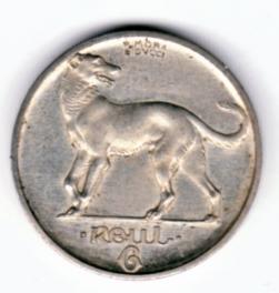 Ireland Irish coin Pablo Morbiducci Pattern Sixpence