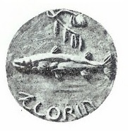 1927 Carl Milles, florin (from a plaster model)