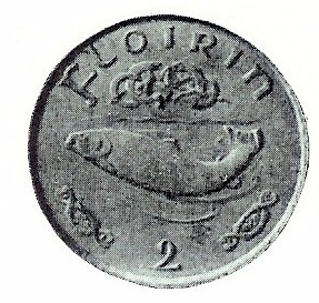 1927 Oliver Shepard pattern, florin (from a plaster model)