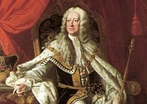 George II (1727-1760).  King of Great Britain and Ireland, Duke of Brunswick-Lüneburg (Hanover) and Prince-elector of the Holy Roman Empire