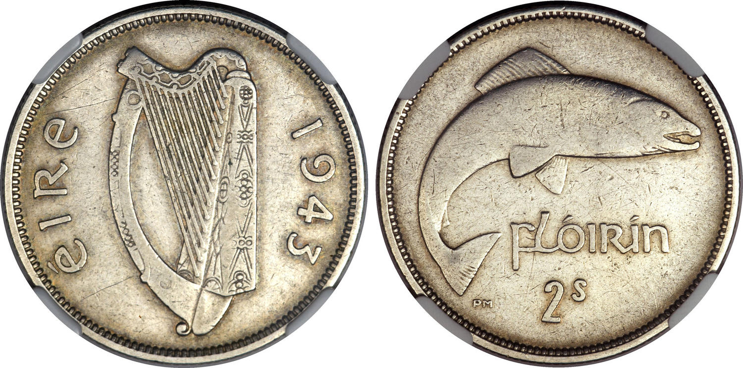 O'Brien Rare Coin Review: Why is the 1943 Irish Florin so