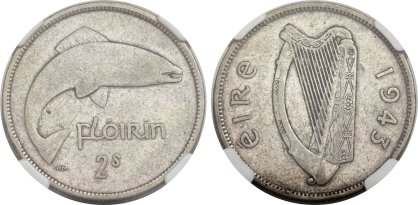 Heritage World Coin Auctions - Sale 3032 10-12 April 2014 - 1943 florin