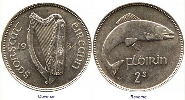 Irish Free State 1934 Florin