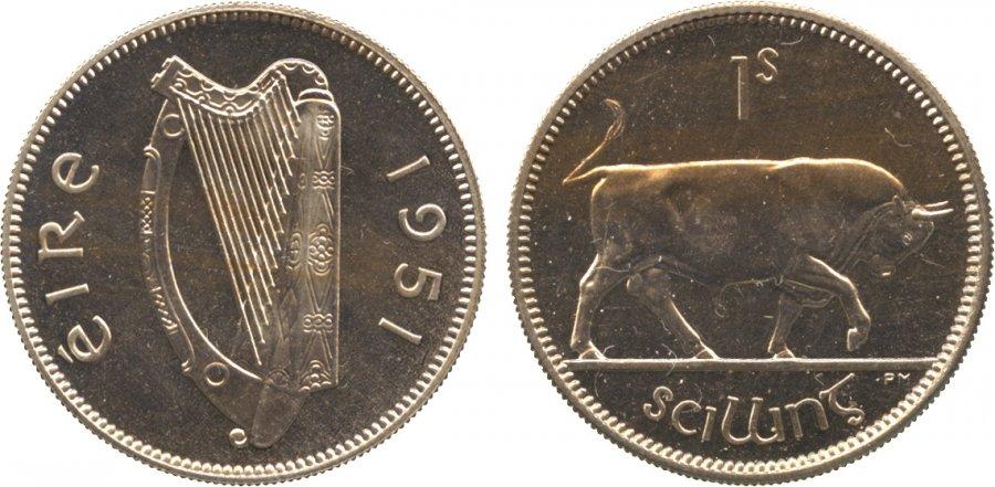 O Brien Coin Guide Irish Pre Decimal Shilling The Old