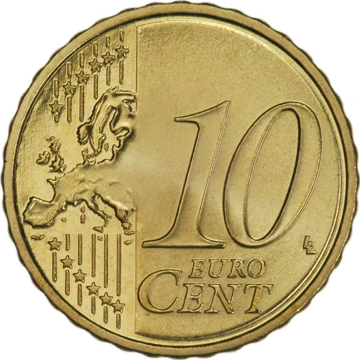 O'Brien Coin Guide: Irish Euro 10c | The Old Currency ...