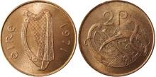 1971 Ireland decimal twopence