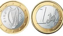 2002 Ireland €1, Type I reverse