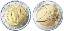 2002-2006 Ireland €2, Type I reverse