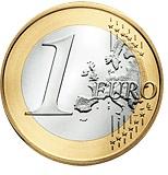 2007 Ireland €1, Type II reverse