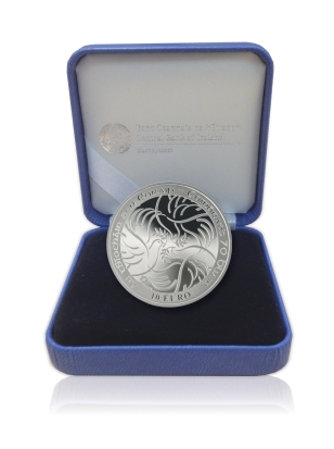2015 Ireland €10 commemorative coin - 70 Years Peace in Europe