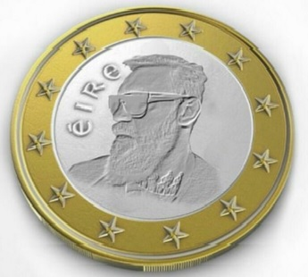 2016 spoof Conor McGregor €1 coin