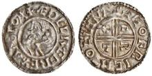 Aethelred II, Type 4 - Crux penny, Moneyer, Leofric of Lymne, rare mint