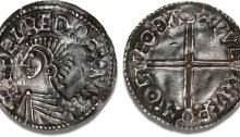 Aethelred II, Type 5 - Long Cross penny, Moneyer, Wulfmær of Castle Gotha