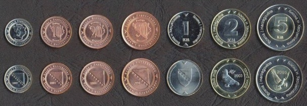 Bosnia and Herzegovina 7 coins