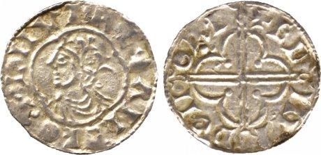 Cnut (1016-1035) , penny, quatrefoil type, Norwich, Edmund