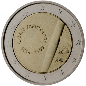 Finland 2015 special €2 commemorative coin - The 100th Anniversary of the birth of designer and interior designer Ilmari Tapiovaara