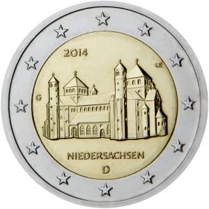 Germany: €2 commemorative 2014 - Niedersachsen from the 'Lander' series