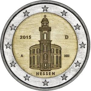 Germany commemorative €2 coin 2015 Hessen