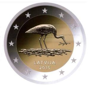 Latvia commemorative €2 coin 2015 - the 10th anniversary of the Black Stark Protection Plan in Latvia