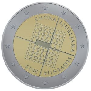 Slovenia special €2 commemorative coin design competition - 2nd place (this design was not produced)