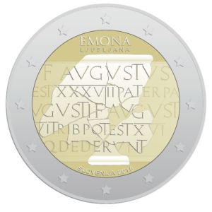 Slovenia special €2 commemorative coin design competition - 3rd place (i.e. this design was not produced)