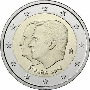 Spain 2015 special €2 commemorative coin - Change of the Head of State