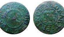 1664 trade token Robart Prince of Cashel, Co Tipperary