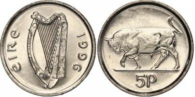 1996 Ireland 5p