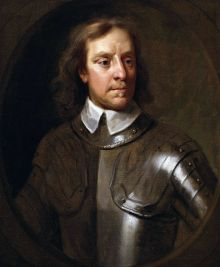 A 1656 Samuel Cooper portrait of Cromwell 1st Lord Protector of the Commonwealth of England, Scotland and Ireland In office (16th December 1653 – 3rd September 1658)