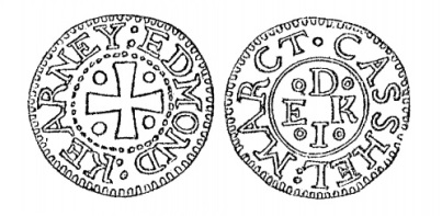 Aquilla Smith's engraving of Edmond Kearney's penny token (Cashel)