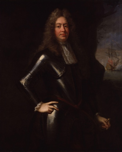 George Legge, 1st Baron Dartmouth, by John Riley (died 1691), given to the National Portrait Gallery, London in 1882