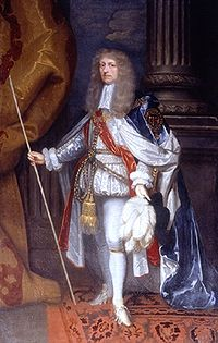 On the return of Charles to England as king, Ormonde was appointed a commissioner for the treasury and the navy, made Lord Steward of the Household, a Privy Councillor, Lord Lieutenant of Somerset (an office which he resigned in 1672), High Steward of Westminster, Kingston and Bristol, chancellor of Trinity College, Dublin, Baron Butler of Llanthony and Earl of Brecknock in the peerage of England; and on 30 March 1661 he was created Duke of Ormonde in the Irish peerage and made Lord High Steward of England, for Charles's coronation that year. At the same time he recovered his enormous estates in Ireland, and large grants in recompense of the fortune he had spent in the royal service were made to him by the king, while in the following year the Irish Parliament presented him with £30,000. His losses, however, according to Carte, exceeded his gains by nearly £1 million.