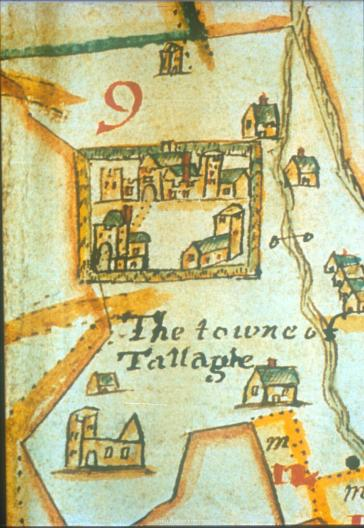 Map of Tallaght 1641