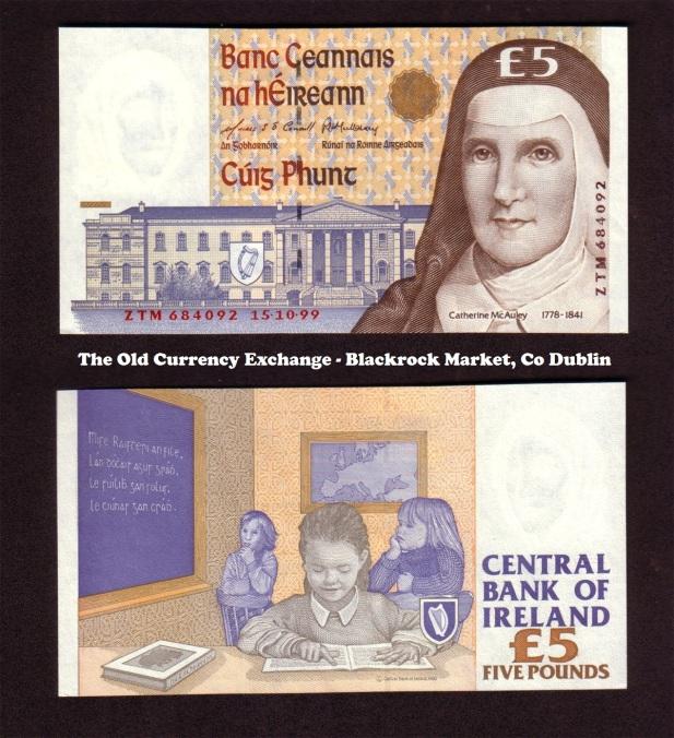 1999 C Series £5 Banknote